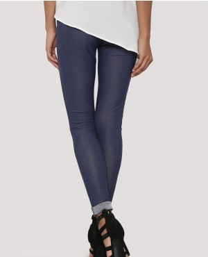 New-Stylish-Turn-Up-Hem-Basic-Leggings-RO-3089-20-(1)