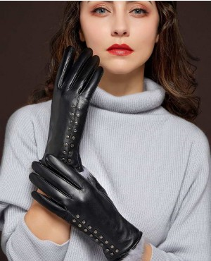 New-Women-Genuine-Sheepskin-Leather-Gloves-Fashion-RO-2427-20-(1)