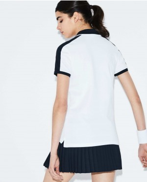 New-Women-Polo-Shirt-White-And-Black-Colors-With-Your-Customization-RO-2616-20-(1)