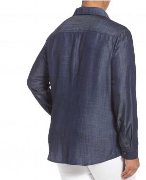 OEM-Customize-Design-Women-Navy-Blue-Denim-Shirt-Plus-Size-RO-3334-20-(1)