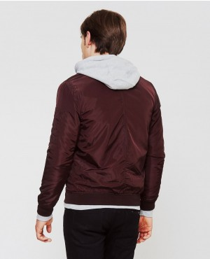 Poly-Bomber-Jacket-Burgundy-RO-102978-(1)