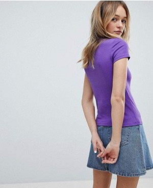 Purple-Color-Crew-Neck-T-Shirt-RO-2520-20-(1)