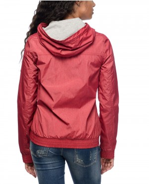 Red-&-Grey-Jersey-Lined-Windbreaker-Jacket-RO-102903-(1)