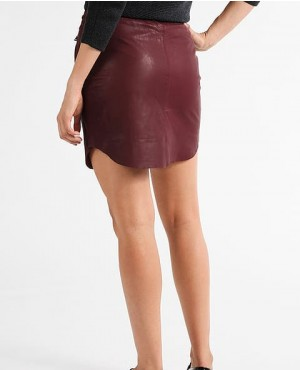 Soft-Sheep-Leather-Skirt-Burgundy-RO-3779-20-(1)