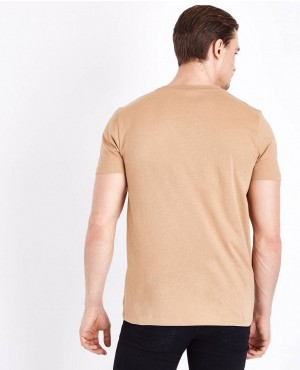 Street-Style-Brown-Short-Sleeve-Muscles-Gym-Fit-T-Shirt-RO-2173-20-(1)
