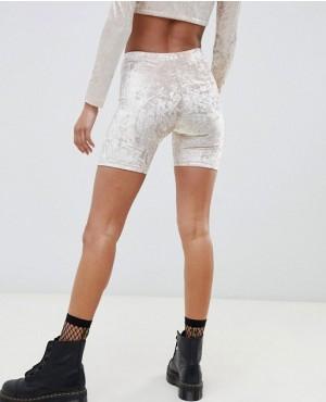 Street-Wear-Custom-Branded-Velvet-Legging-Shorts-RO-3238-20-(1)