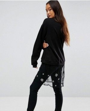 Sweatshirt-with-Embellished-Mesh-Layer-RO-3049-20-(1)