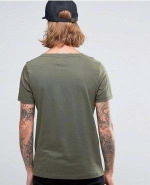 T-Shirt-With-Scoop-Neck-In-Khaki-RO-102166-(1)
