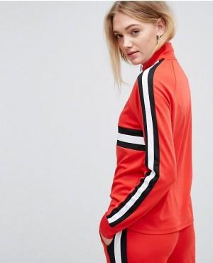 Tall-Colour-Block-Pull-Ring-Zipper-Sweatshirt-RO-3050-20-(1)
