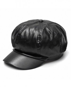 Unisex-PU-Faux-Leather-Custom-Beret-Hat-RO-2342-20-(1)