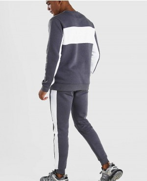 White-Panel-Colour-Block-Sweater-Tracksuit-RO-2097-20-(1)