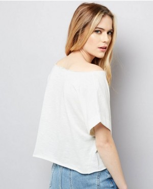 White-Rolled-Sleeve-Oversized-Crop-Top-RO-2720-20-(1)