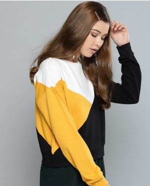 Women-Black-&-Mustard-Yellow-Colourblocked-Sweatshirt-RO-3054-20-(1)