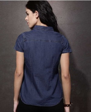 Women-Blue-Regular-Fit-Solid-Denim-Casual-Short-Sleeves-Shirt-RO-3340-20-(1)