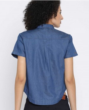 Women-Blue-Solid-Denim-Crop-Shirt-RO-3343-20-(1)