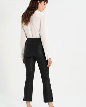 Women-Leather-Pant-with-Button-Closure-In-Black-RO-3679-20-(1)