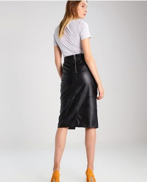 Women-Long-Leather-Skirt-Black-RO-3784-20-(1)