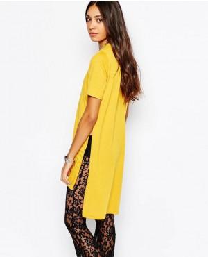 Women-Longline-Tunic-With-Split-Side-Detail--T-Shirt-RO-2586-20-(1)