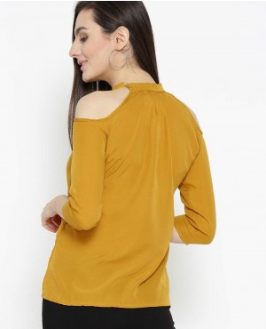 Women-Mustard-Yellow-Solid-T-Shirt-RO-2558-20-(1)