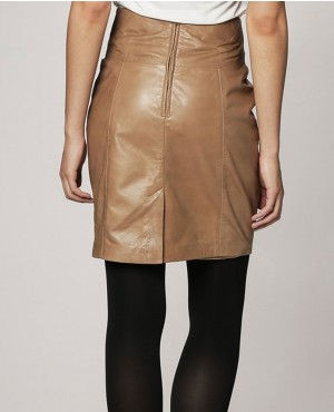 Women-Office-Lady-Brown-Leather-Skirt-RO-102727-(1)