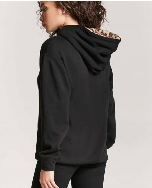 Women-Pullover-Hoodie-In-Black-Color-With-Contrast-Hooded-Lined-RO-2962-20-(1)