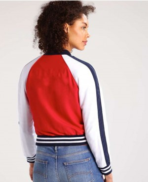Women-Red-&-White-Bomber-Jacket-RO-103038-(1)