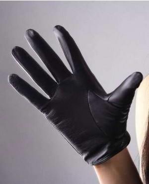 Women-Short-Design-Sheepskin-Gloves-Thin-Genuine-Leather-RO-2439-20-(1)