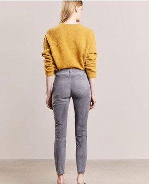 Women-Suede-Leather-Pant-Trousers-Stone-Grey-RO-3686-20-(1)