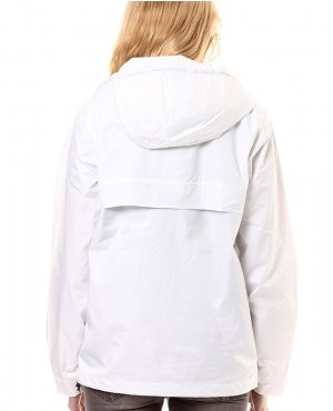 Women Custom Pullover Pouched Pocket Windbreaker Jacket RO-3496-20 (1)