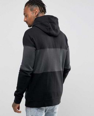 Zipper Hoodie in Black with Zipper Pockets RO 2033 20 (1)