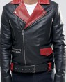 Belted-Leather-Biker-In-Black-With-Red-Lapel-Detail-RO-102308-(1)