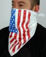 Flag White Bandana Face Mask RO-3881-20