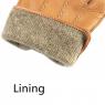 Men Fashion Deerskin Gloves Button Wrist Solid Genuine Leather RO-2448-20 (1)