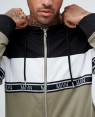 Track Jacket With Block Details with Woven Branded Stripe RO 2032 20 (1)