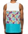 White-&-Teal-Floral-Tank-Top-RO-103507-(1)