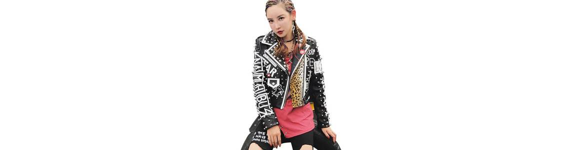 All Over Printed Leather Jackets