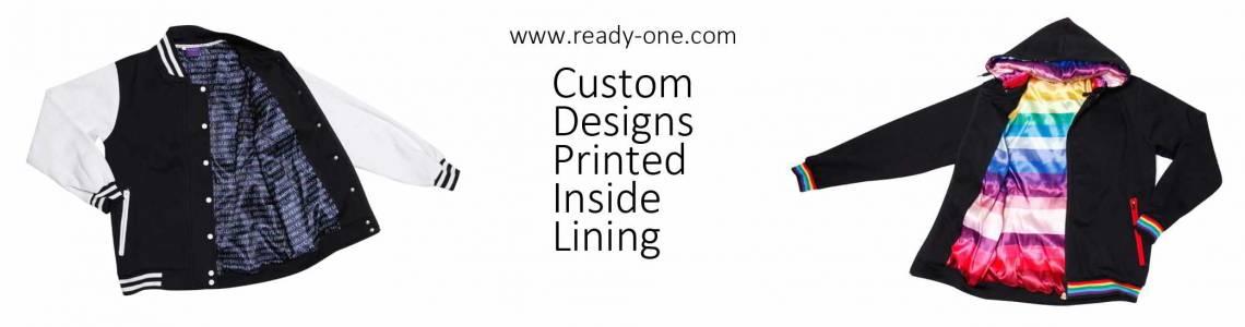 Custom Printed Lining