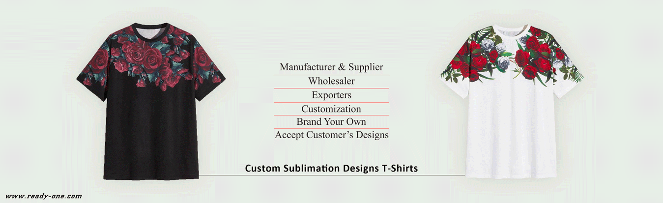 Custom Designs Sublimation Shirts