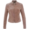 Ladies Suede Leather Jackets